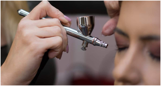 How To Apply Airbrush Makeup At Home For Yourself_2